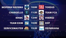 Расписание «Кубок АБЛ 2019-2020» на 18-19 января 2020 года