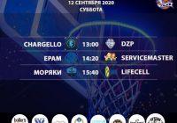 Расписание «Кубок АБЛ 2019-2020» на 12 сентября 2020 года