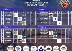 Кубок АБЛ 2 тур таблица